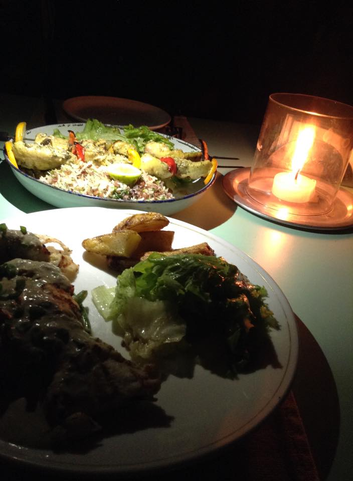 bday dinner